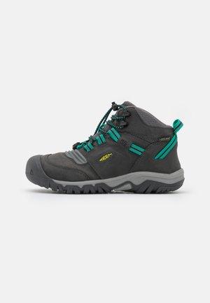 RIDGE FLEX MID WP UNISEX - Chaussures de marche - magnet/greenlake