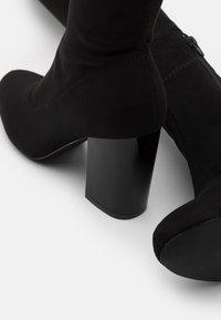 Even&Odd - Laarzen met hoge hak - black - 5