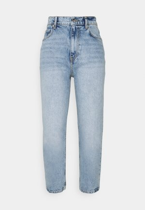UNNI CROPPED - Straight leg jeans - sea blue