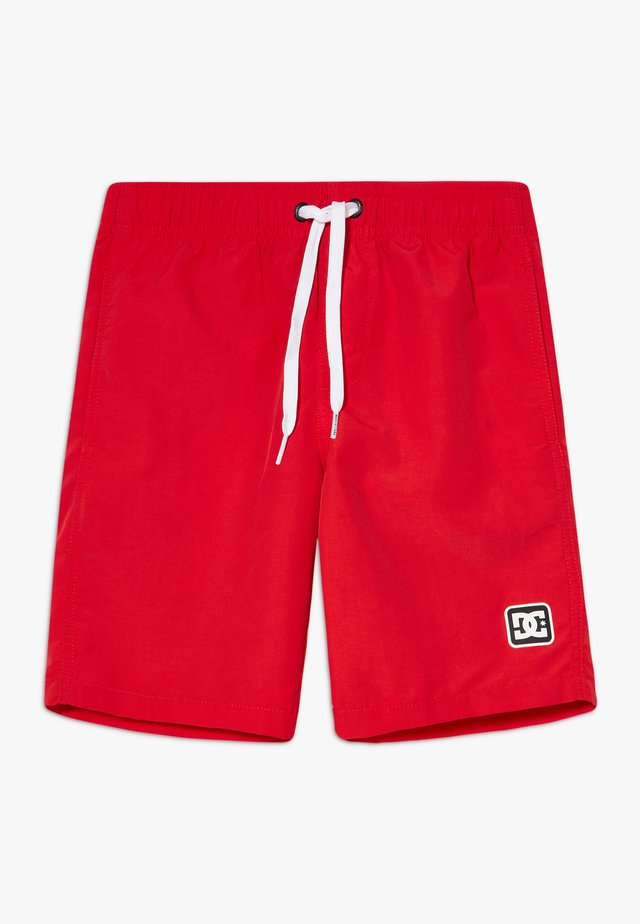 NAHMAS DAY BOY - Shorts - racing red