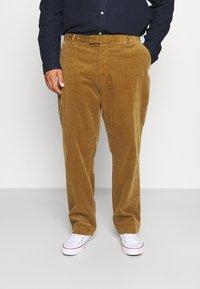 Polo Ralph Lauren Big & Tall - FLAT FRONT - Trousers - new ghurka - 0