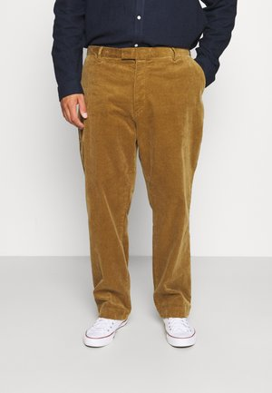 FLAT FRONT - Trousers - new ghurka