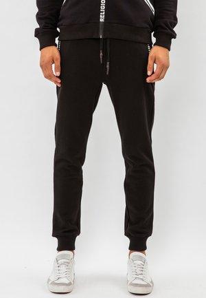 REPEAT  - Teplákové kalhoty - black