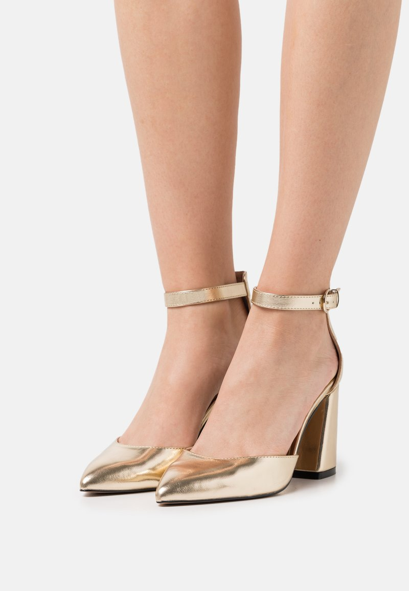 ONLY SHOES - ONLPAVI - Classic heels - gold