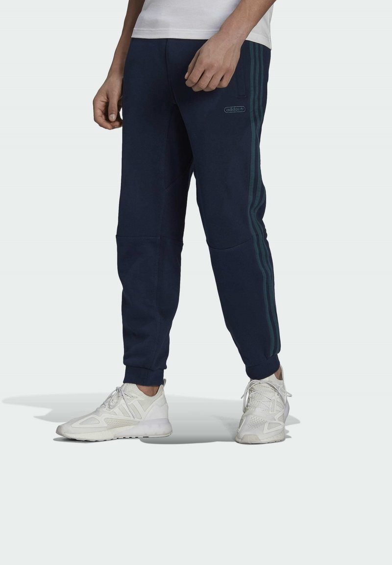 adidas Originals - WW SWEATPANT SPRT COLLECTION ORIGINALS SLIM TRACK PANTS - Träningsbyxor - blue