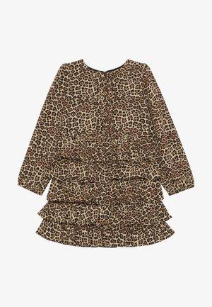 TIA RARA DRESS - Denní šaty - brown