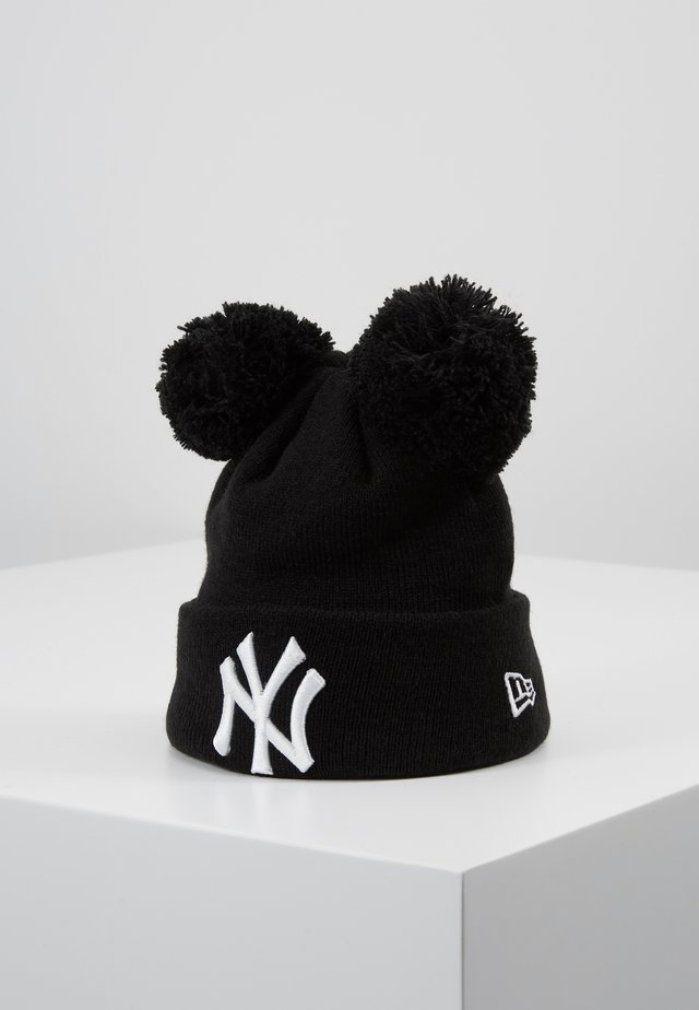 KIDS DOUBLE BOBBLE NEW YORK YANKEES - Gorro - black/white