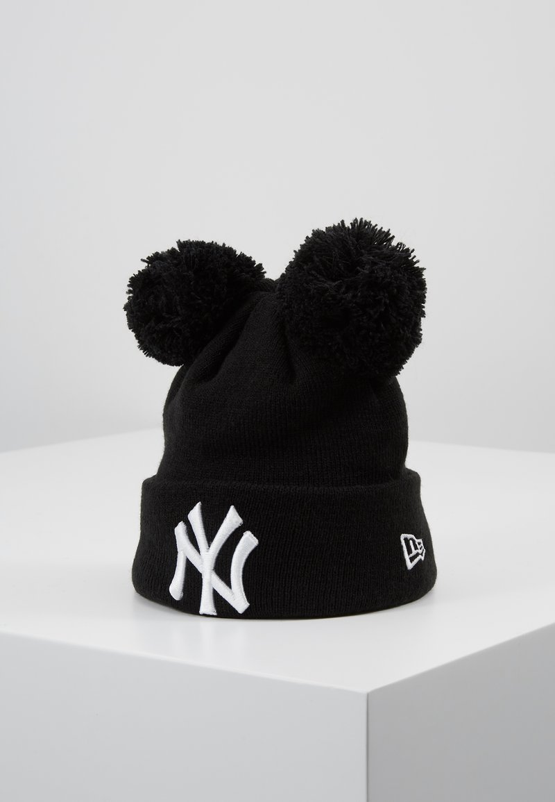 New Era - KIDS DOUBLE BOBBLE NEW YORK YANKEES - Lue - black/white