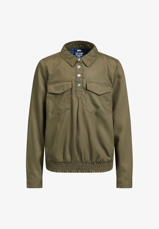 UILITYBLOUSE VAN LYOCELL - Camicia - army green