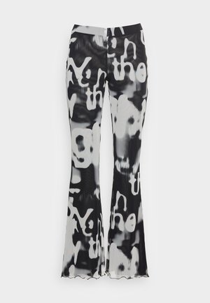 CECILE - Trousers - black