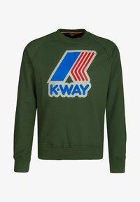 K-Way - EMANUEL  - Sweatshirt - green dk forest - 0