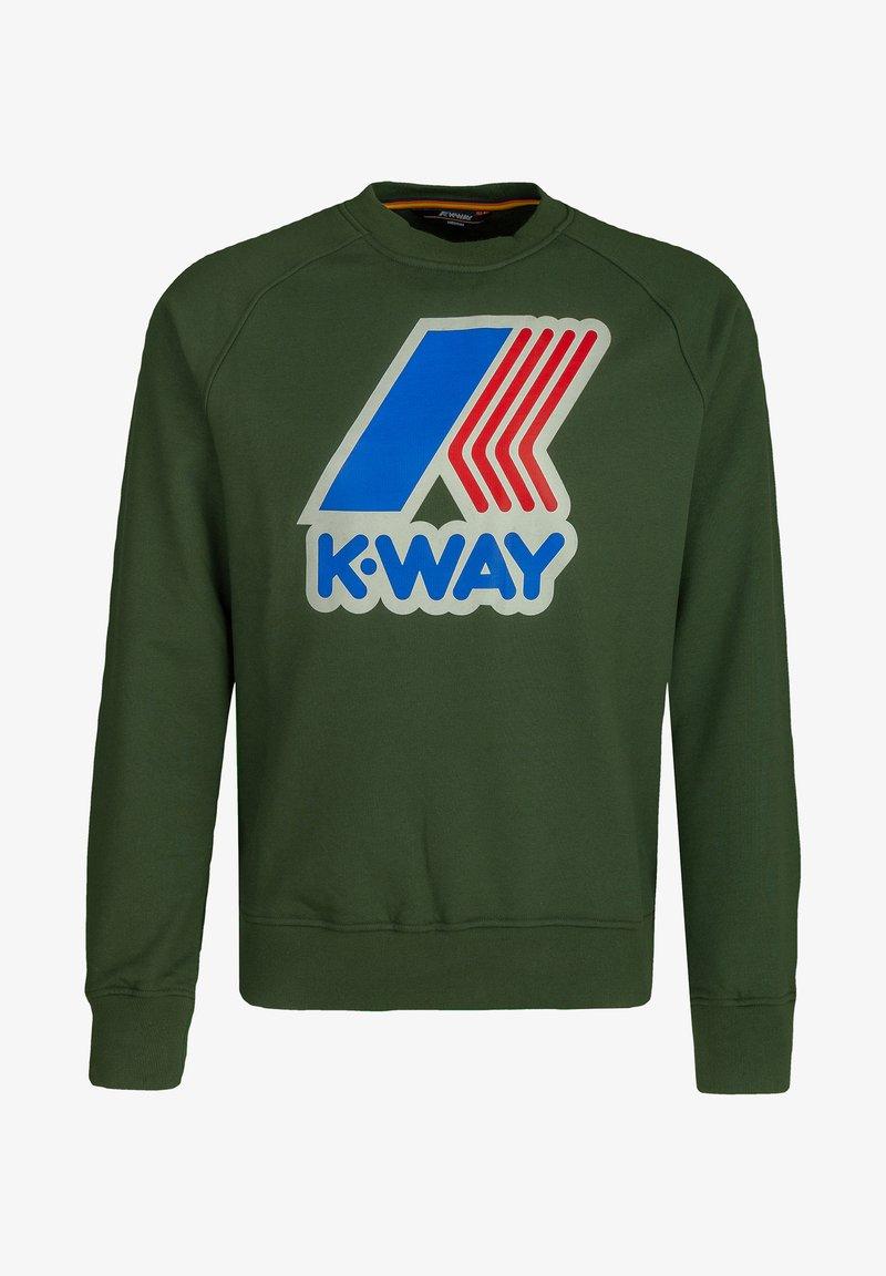 K-Way - EMANUEL  - Sweatshirt - green dk forest