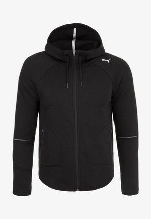 EVOSTRIPE MOVE KAPUZEN - Sports jacket - black