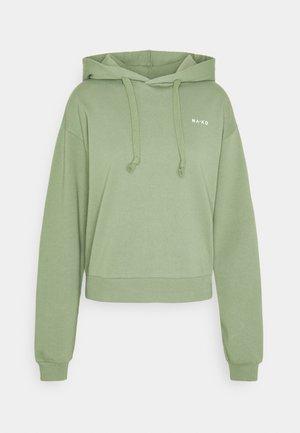 LOGO BASIC HOODIE - Hoodie - green