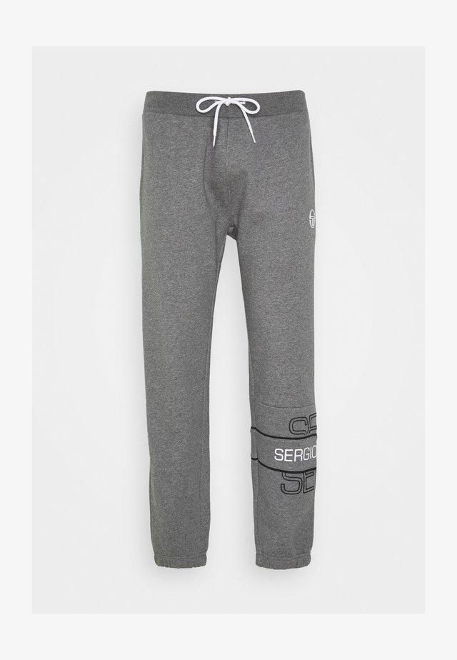 BLINK PANTS - Pantalon de survêtement - darkgreymelange/black