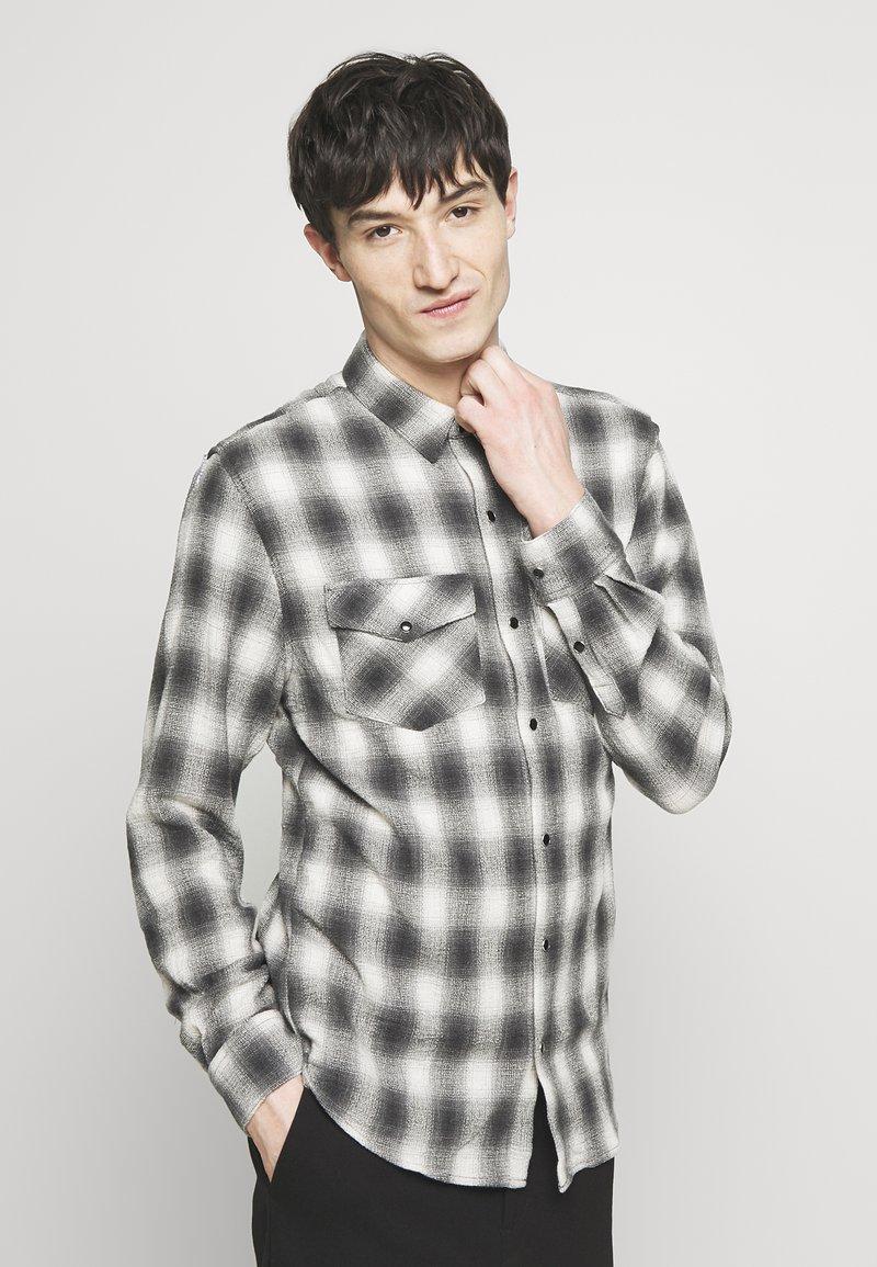 Iro - SHELLEY - Shirt - mixed grey
