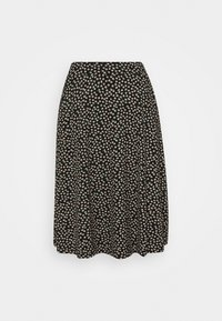 King Louie - SOFIA MIDI SKIRT SEVRES - A-line skirt - black - 3