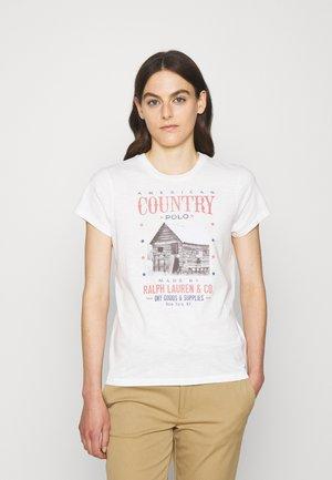 SHORT SLEEVE - Print T-shirt - nevis