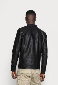 Only & Sons - ONSAL  - Faux leather jacket - black - 2