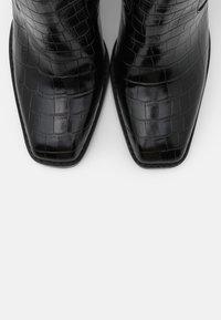 CAFèNOIR - High heeled boots - nero - 5