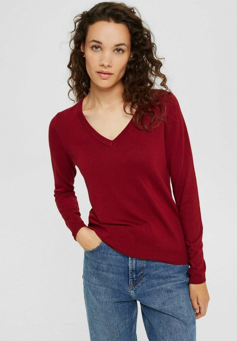 edc by Esprit - COO  - Pullover - dark red