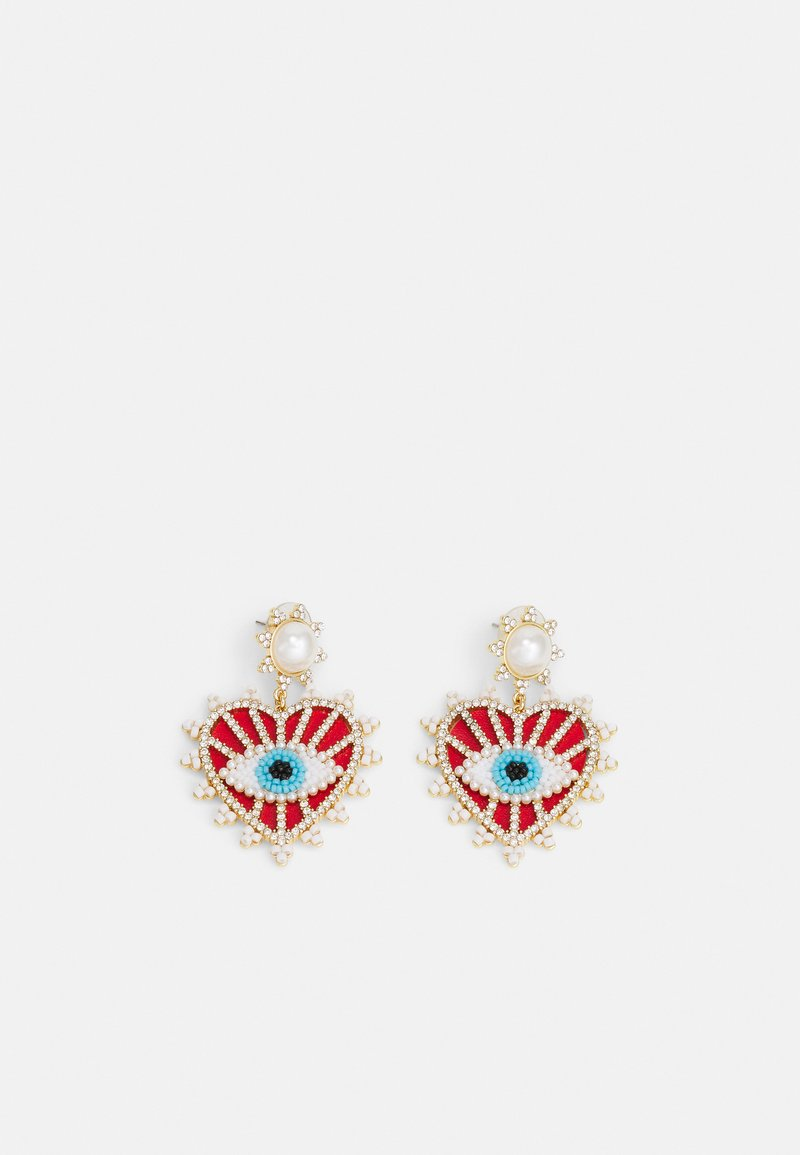BAUBLEBAR - Earrings - red/gold-coloured
