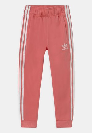 ADICOLOR SST TRACK PANTS - Tracksuit bottoms - hazy rose/white