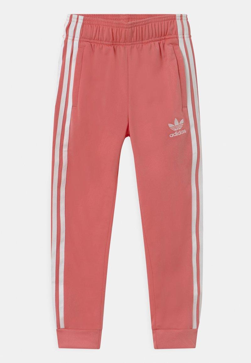 adidas Originals - ADICOLOR SST TRACK PANTS - Tracksuit bottoms - hazy rose/white