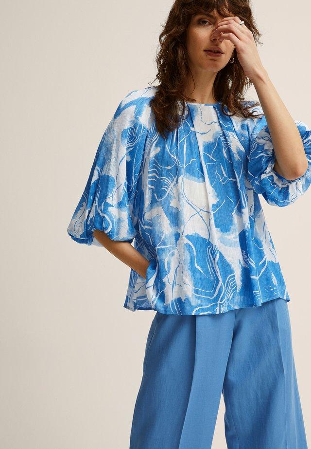 FRANSISCA  - Blouse - blue print