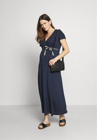 Balloon - NURSING DRESS - Maxi šaty - navy