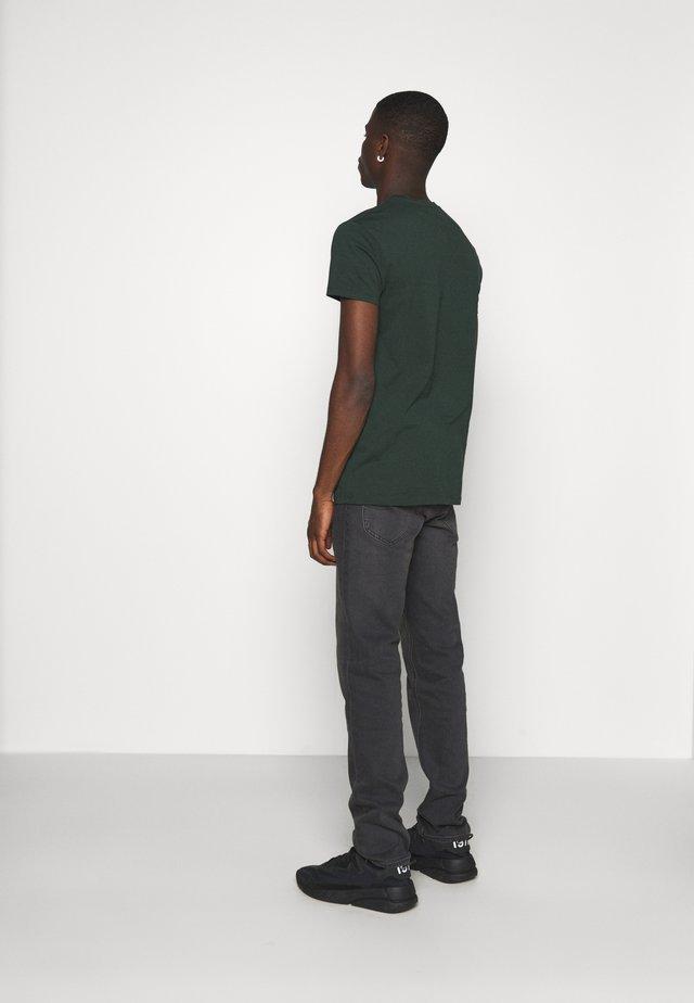 DAREN - Jeans straight leg - black helen