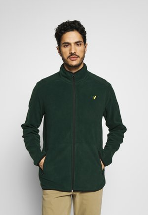 Fleecová bunda - dark green