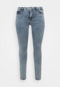 Zizzi - AMY SHAPE - Jeans Skinny Fit - stone washed - 3