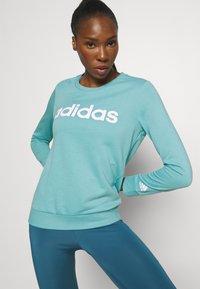 adidas Performance - Sweatshirt - mint ton/white - 3