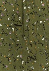 MAMALICIOUS - MLLEVETTA LIA DRESS - Korte jurk - olivine - 2
