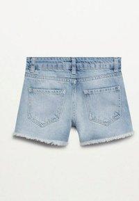 Mango - Denim shorts - middenblauw - 1
