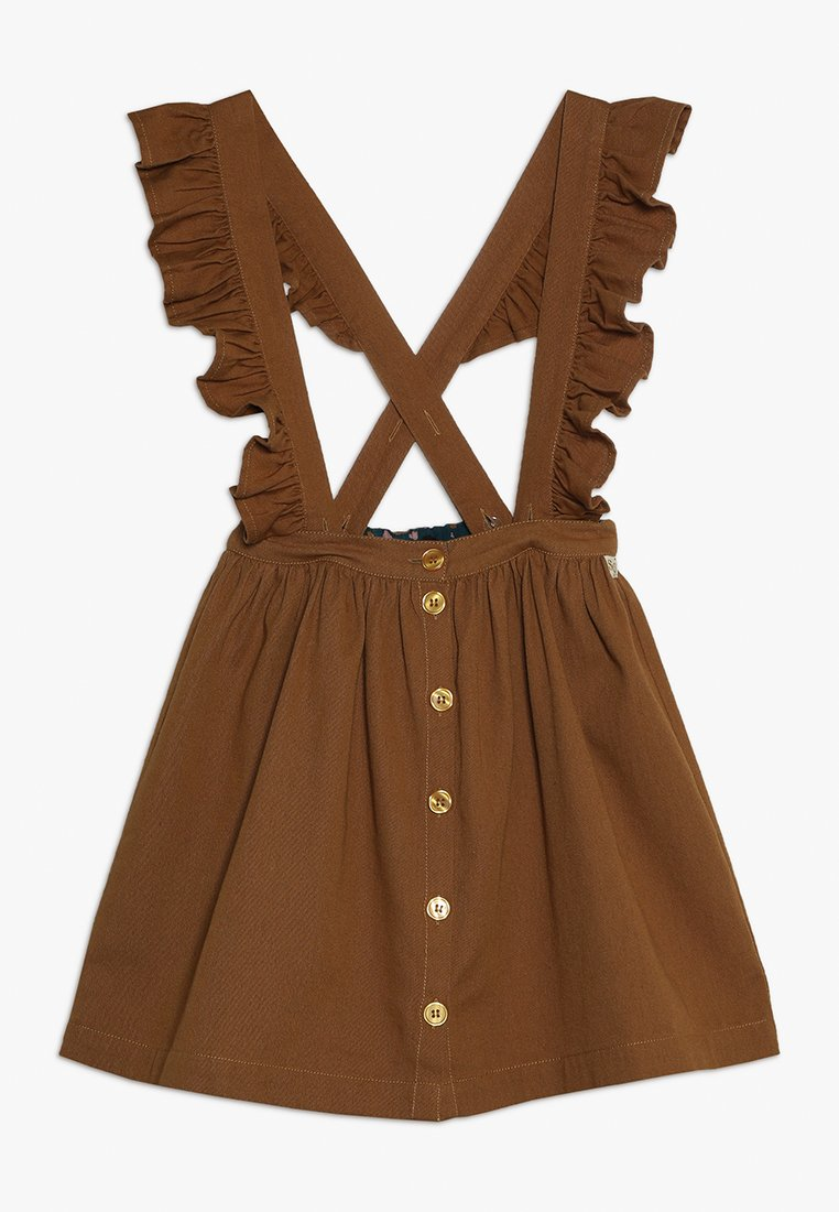 Soft Gallery - DIXIE SKIRT BRACES - A-line skirt - bone brown