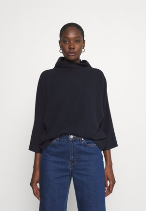 FEMININE BATWING - Jumper - sky captain blue