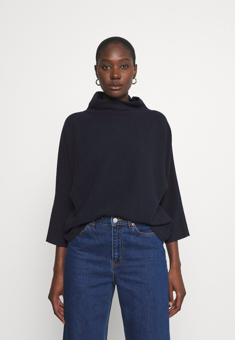 TOM TAILOR - FEMININE BATWING - Jumper - sky captain blue