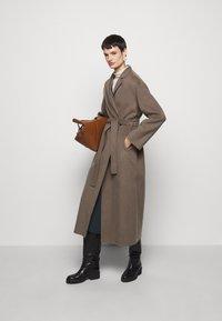 Filippa K - ALEXA COAT - Classic coat - dark taupe - 1