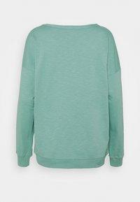 edc by Esprit - SLUB TERRY - Sweatshirt - dusty green - 1