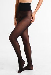 Maidenform - SEXY SHAPING HOSIERY TUMMY FLATTENER 60 DEN APPEARANCE MATT - Collant - black - 0