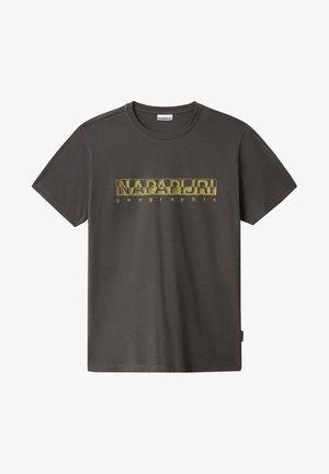 SALLAR - T-shirt imprimé - dark grey solid