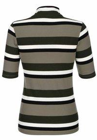 Laura Kent - Print T-shirt - schilf dunkelgrün - 3