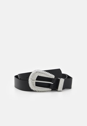 VMKAMMA BELT - Pásek - black/silver-coloured