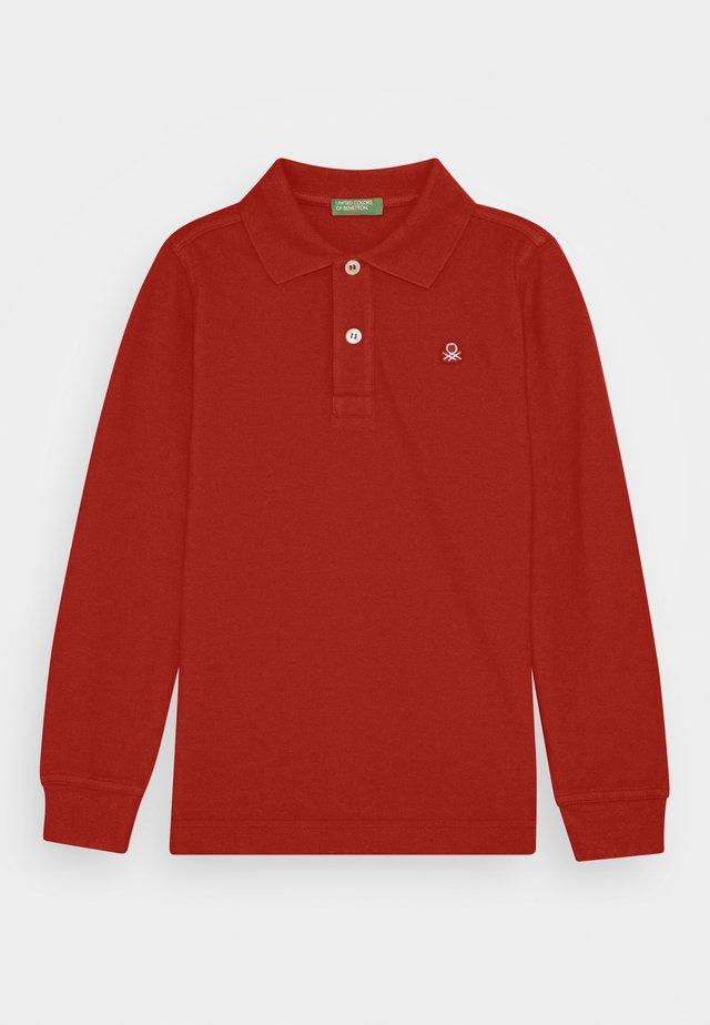 BASIC BOY - Polo - red