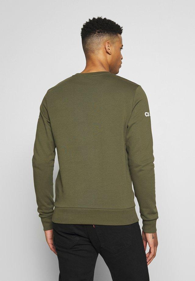 JCOHOLM CREW NECK - Sweatshirt - dusty olive