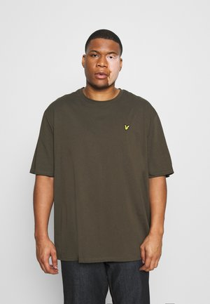 CREW NECK - Basic T-shirt - trek green