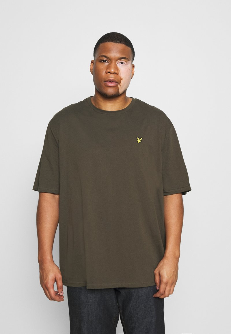 Lyle & Scott - CREW NECK - T-shirt basic - trek green