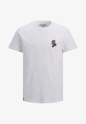 SUPER MARIO - Print T-shirt - white